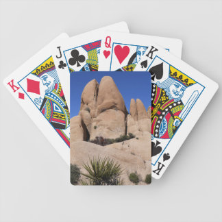 Rocks at Joshua Tree National Park Bicycle Playing Cards