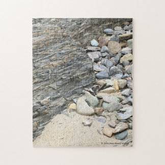 Rocks at the Beach in Co. Cork, Ireland Jigsaw Puzzle