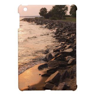 Rocks at Waterfront iPad Mini Case