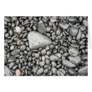 Rocks, Black Sand Beach, Iceland Card