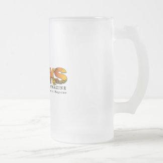 Rocks Frosty Beer Bug Frosted Glass Beer Mug