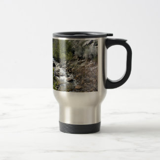 Rocks in the Stream Stainless Steel Travel Mug