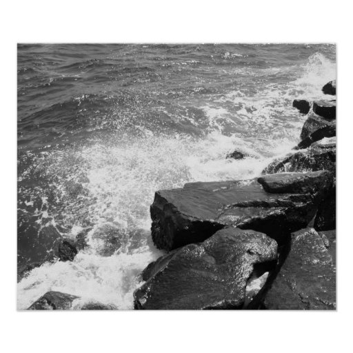 Rocks In The Water Photo Print