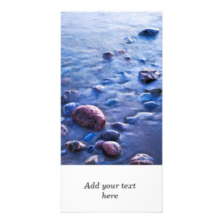 Rocks in water photo cards
