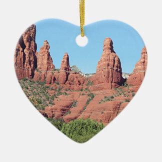 Rocks near Sedona, Arizona,USA 2 Christmas Ornament