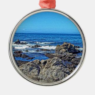 Rocks on the beach01 christmas ornament