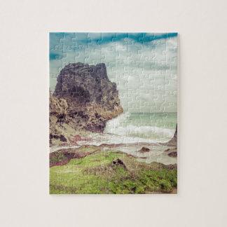 Rocks on the beach03 jigsaw puzzle