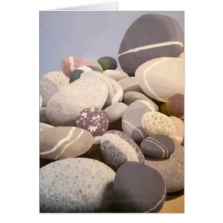 Rocks on the Beach Note Card