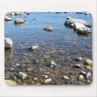 Rocks on the Shore Mouse Pad