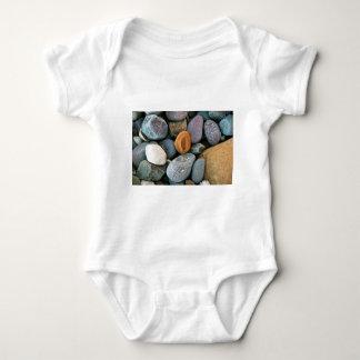 Rocks pattern 1 baby bodysuit