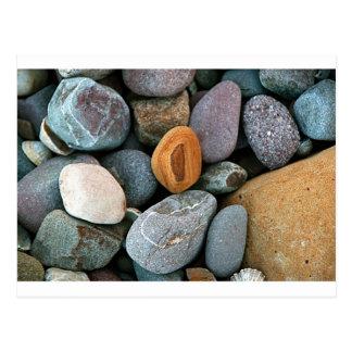 Rocks pattern 1 postcard