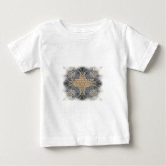 Rocks pattern cross Christian bible verse product Infant T-Shirt
