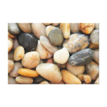 Rocks, Pebbles and Stones Stretched Canvas Print