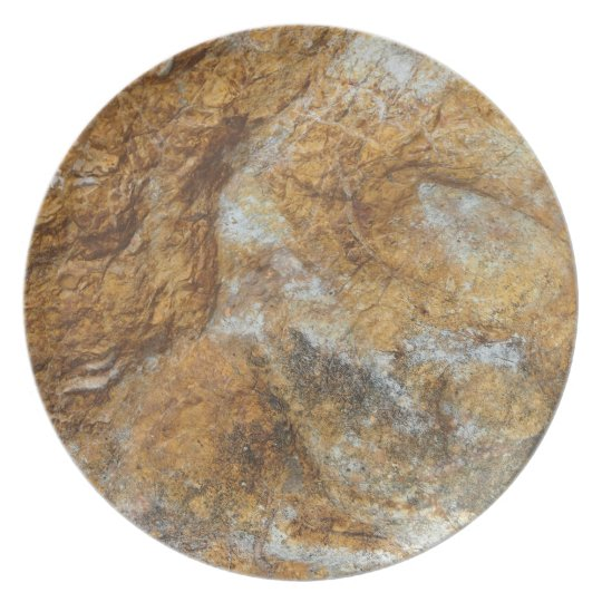 Rocks photo plate