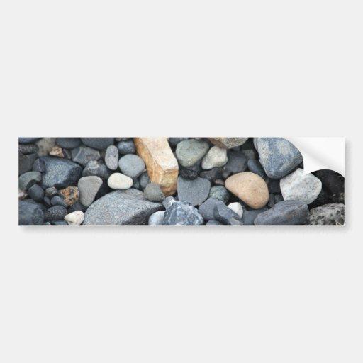 Rocks, stones, and gravel bumper stickers