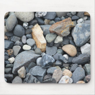Rocks, stones, and gravel mouse pad