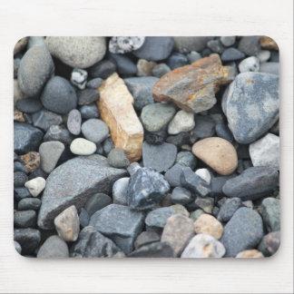 Rocks, stones, and gravel mousepad