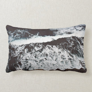 Rocks Themed, View From Top Of A Cliff To Foamy, F Cushion