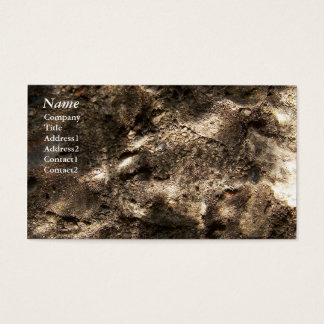 Rocks Underwater - Business Cards