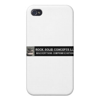 RockSolid Official Logo Covers For iPhone 4