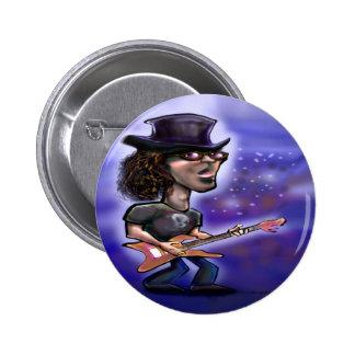 Rockstar 6 Cm Round Badge