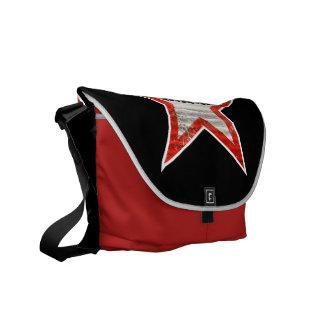Rockstar Bag (black background) Courier Bags