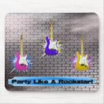 Rockstar Brick Wall Mouse Pad