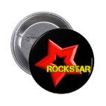 Rockstar Pinback Button