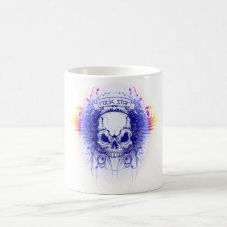 Rockstar Skull - Classic White Mug