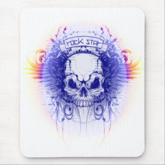 Rockstar Skull - Mousepad