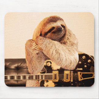 RockStar Sloth Mouse Mat