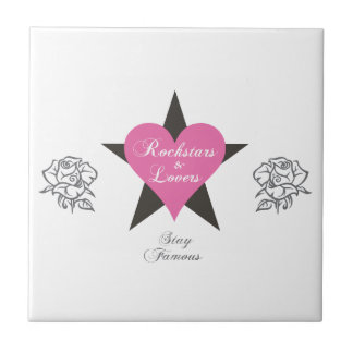 Rockstars And Lovers Brand fashion Clothing Label Ceramic Tiles