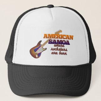 Rockstars are born in American Samoa Trucker Hat