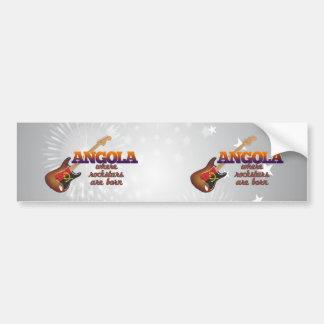 Rockstars are born in Angola Bumper Stickers
