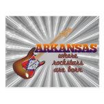 Rockstars are born in Arkansas Post Card