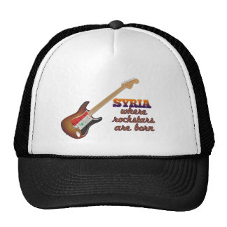Rockstars are born in Syria Cap