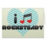 Rocksteady fan greeting card