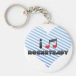Rocksteady fan key chains