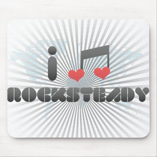Rocksteady fan mouse pads