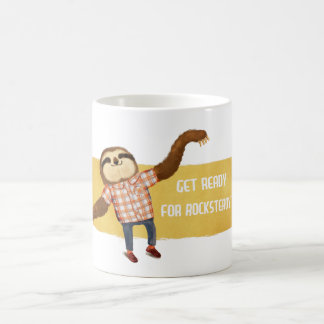 Rocksteady Sloth Coffee Mug