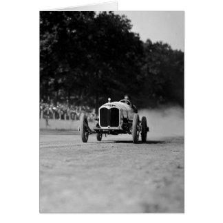 Rockville Fair Auto Race 8-25-1923 Greeting Card