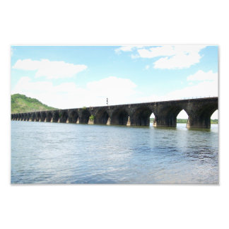 Rockville Stone Masonry Arch Railway Bridge Photograph