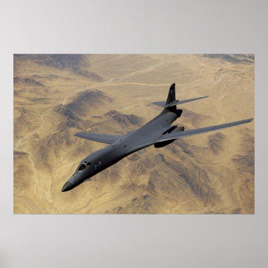 Rockwel B-1B Bomber Poster