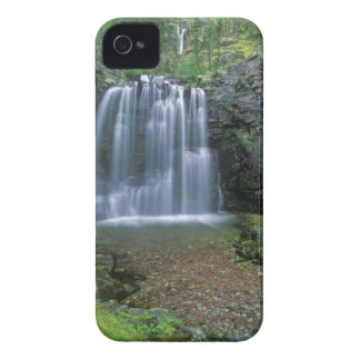 Rockwell Falls in the Two Medicine Valley of iPhone 4 Cover
