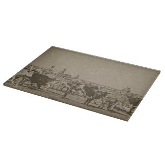 Rockwell Moments Glass Cutting Board