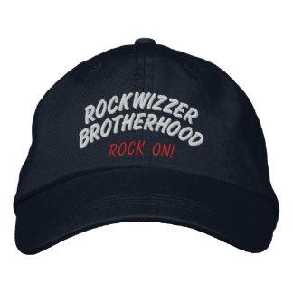 Rockwizzer Brotherhood Rock On hat 1 Baseball Cap