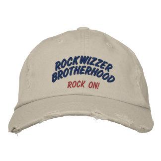 Rockwizzer Brotherhood Rock On hat 4 Embroidered Baseball Caps