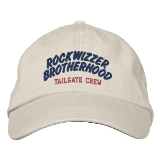 Rockwizzer Brotherhood Tailgate Crew hat 3 Embroidered Hats