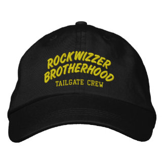 Rockwizzer Brotherhood Tailgate Crew hat 5 Embroidered Baseball Caps