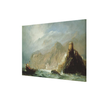 Rocky Bay Canvas Print